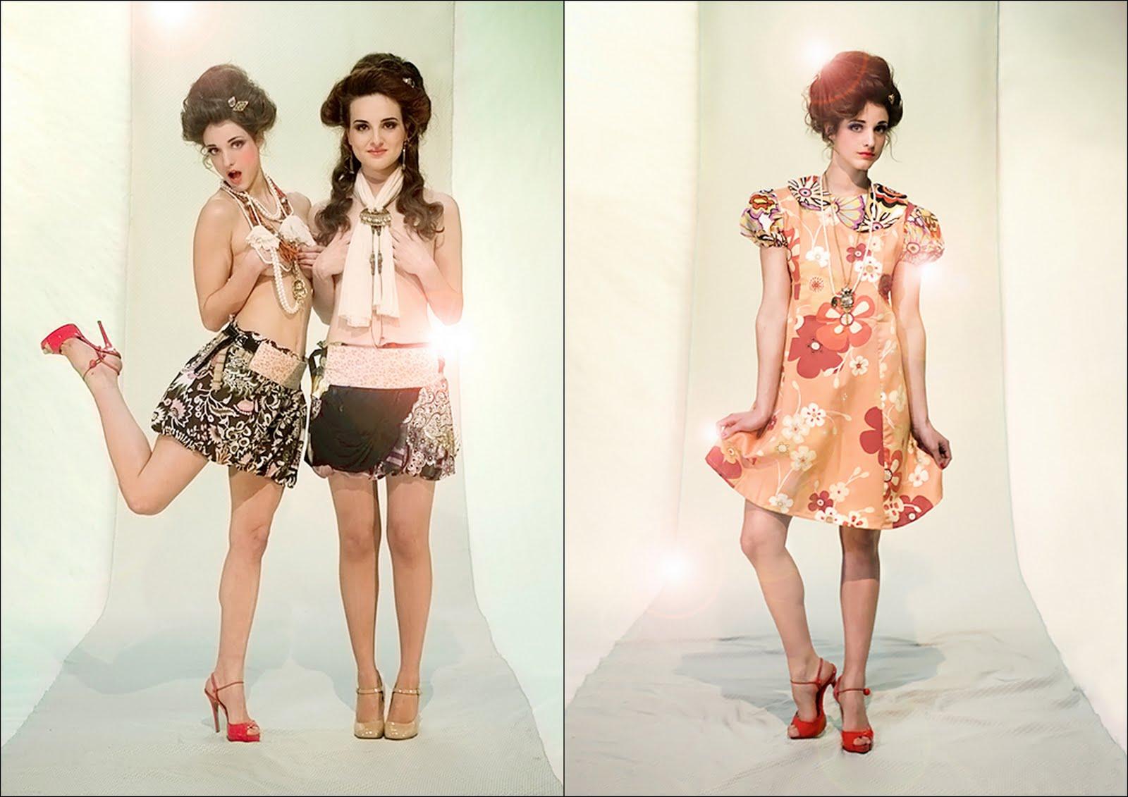 madres solteras + moda vintage