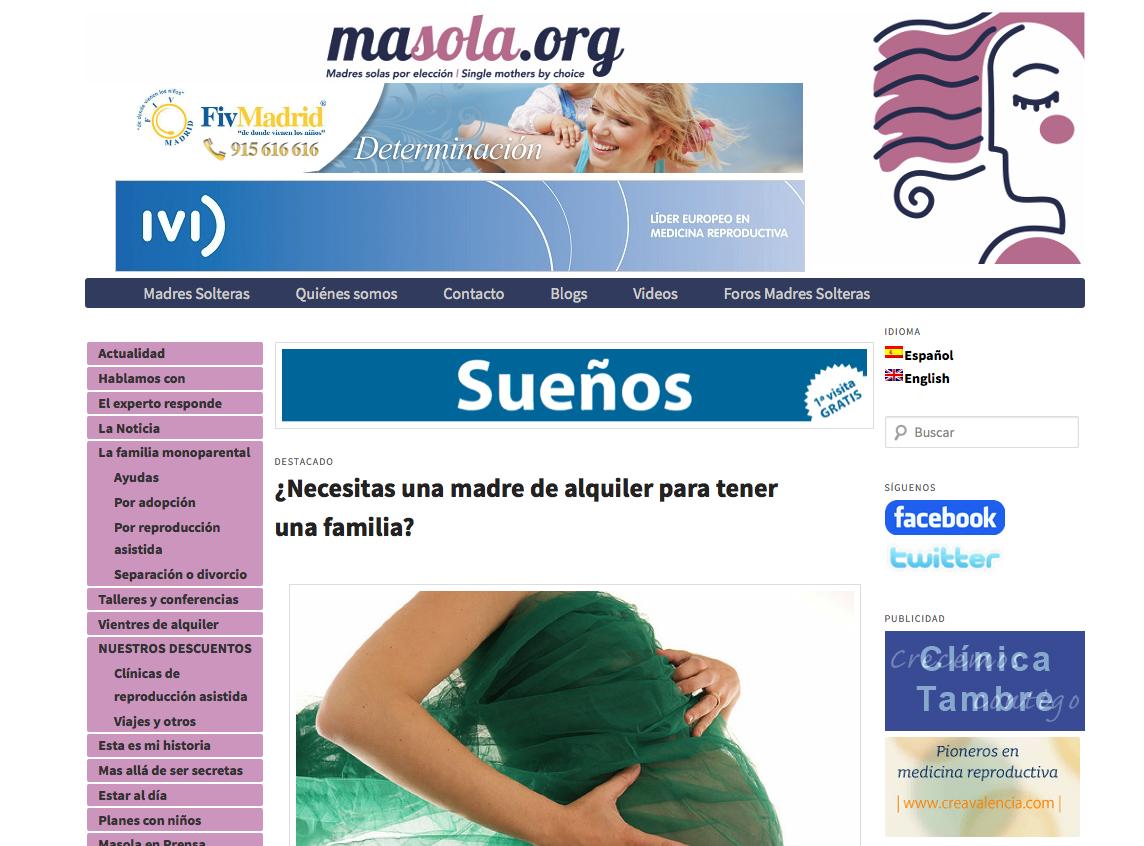 Incluyan a Mujeres Solas y Lesbianas en los tratamientos de fertilidad públicos