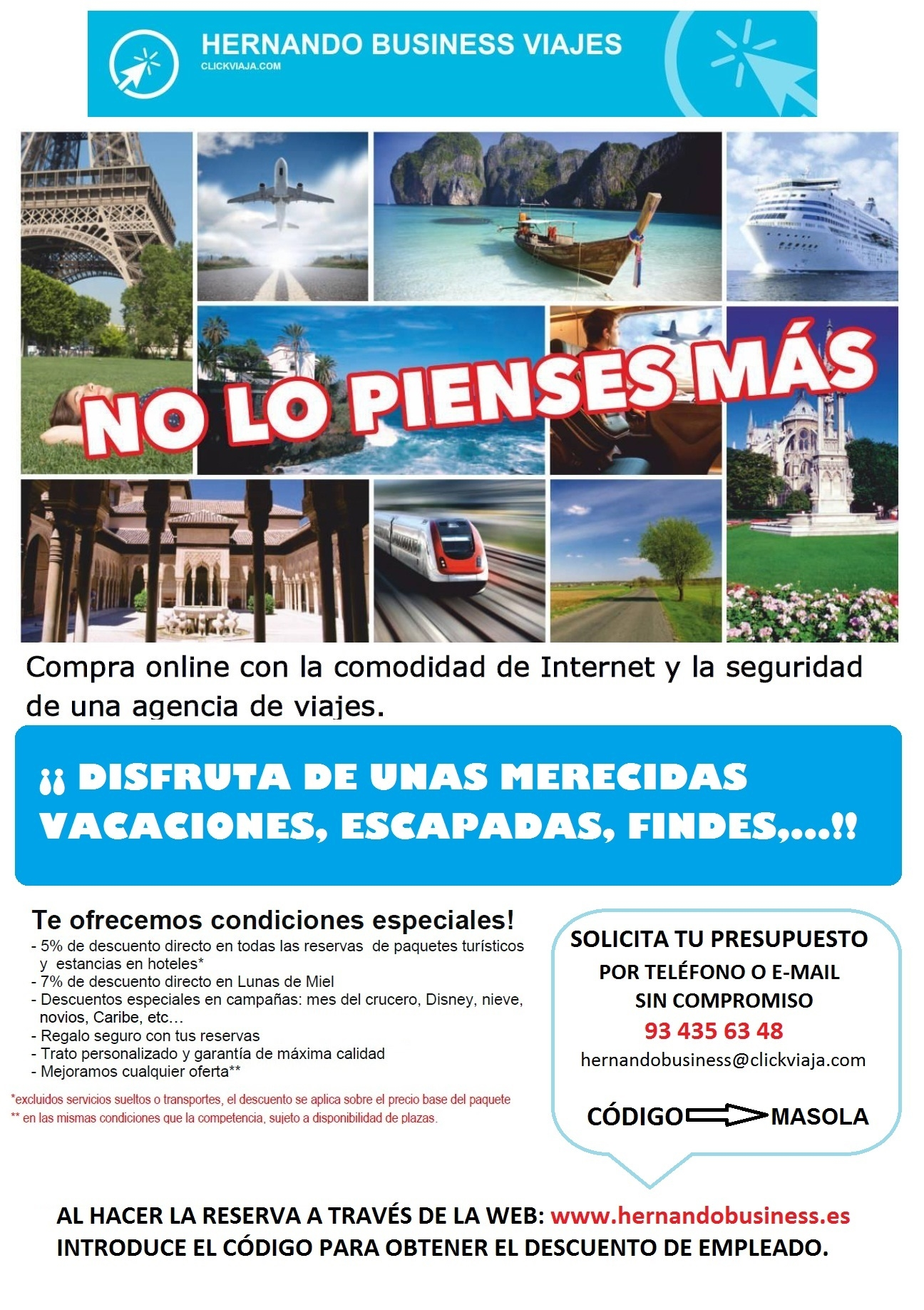 HERNANDO BUSINESS VIAJES