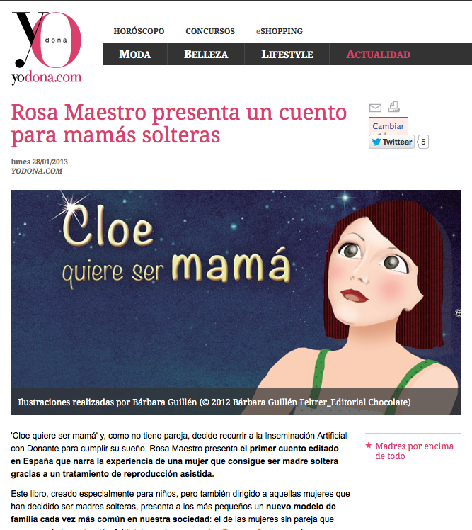 Madres solteras + Cloe quiere ser mamá en Yo Dona