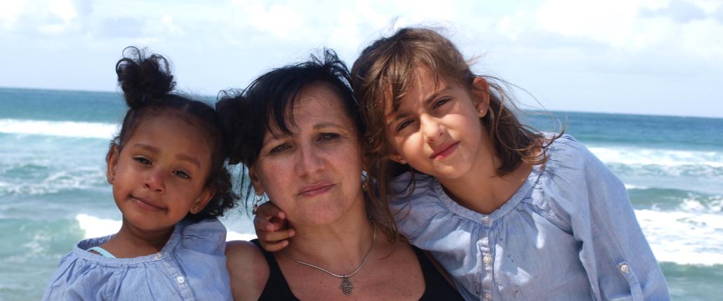 Rosa Maestro es madre de dos niñas, una gracias a una donación de esperma, y la segunda, a través de una adopción internacional.
