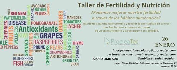 Taller fertilidad y nutrición