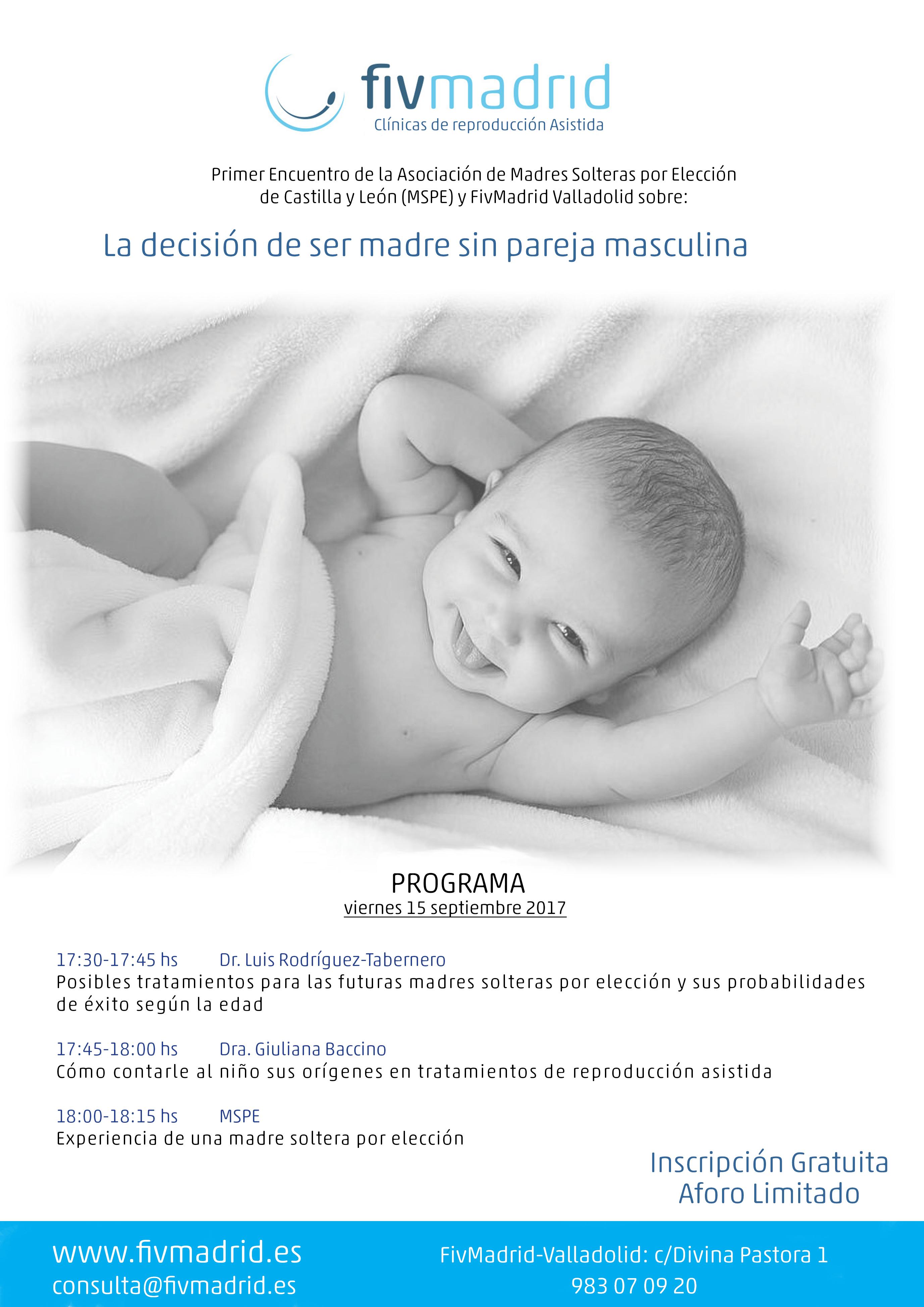 Encuentro en Valladolid madres solteras por elección