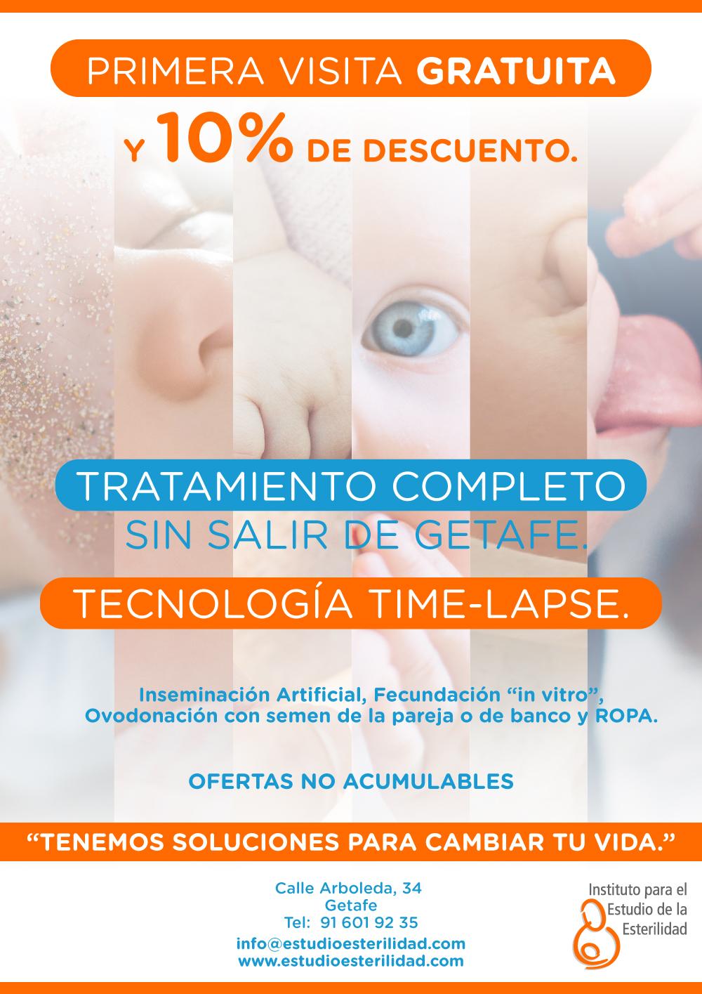 Descuentos tratamientos reproducción asistida