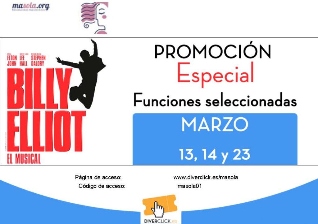 Billy Elliot promoción precios