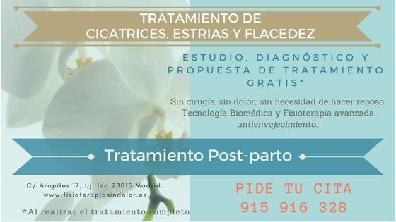 Postparto: estrias, flacidez, cicatrices
