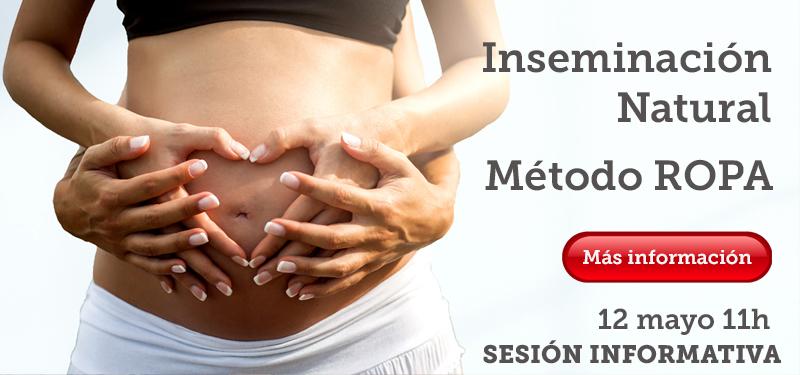 inseminación natural Metodo ROPA Barcelona