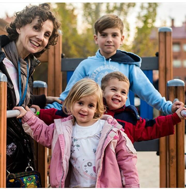 """Foto: cedida por Eva Bernal """"Quería ser madre, pero bajo ningún concepto, de más de dos hijos"""""""