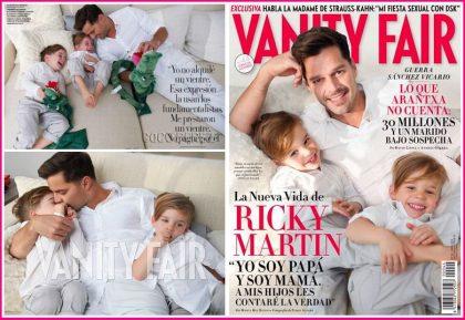 Masola, madres solteras + Ricky Martin y sus dos hijos