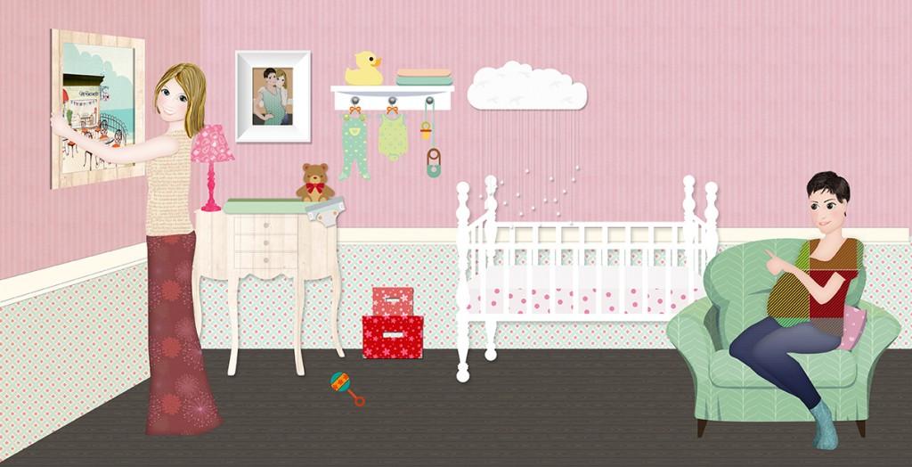 Ibilab presenta Nora y Zoe, dos mamás para un bebé en Mallorca