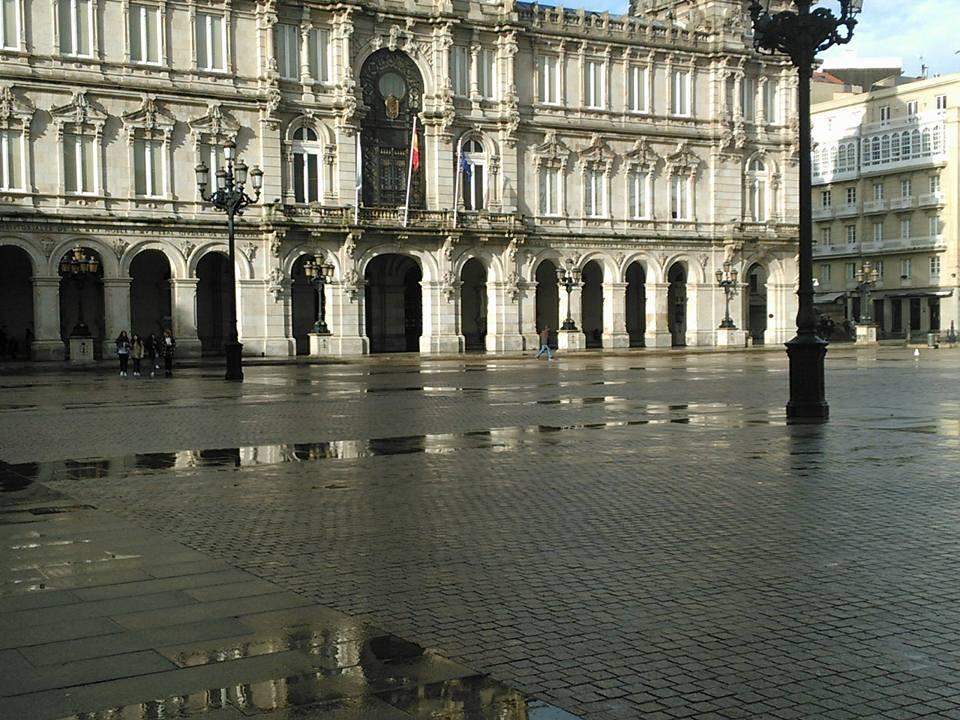 A Coruña. Plaza de María Pita.