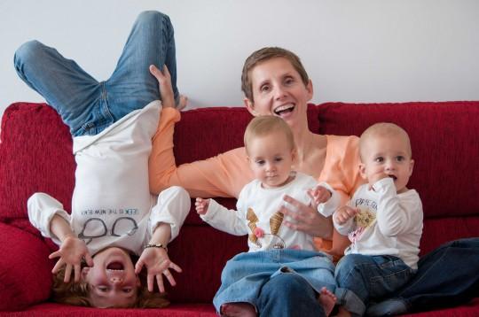Eva María Bernal, ha sido madre soltera de tres hijos, dos gracias a la donación de embriones y un tercero a través de la fecundación in vitro.