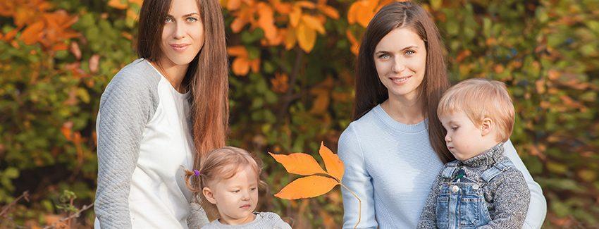 elación de pareja de mujeres durante tratamiento de reproducción asistida