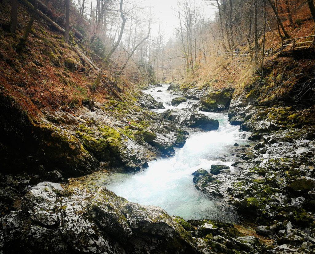 Eslovenia. Garganta Vintgar