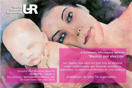 Encuentro Madres sin pareja masculina en reproducción asistida