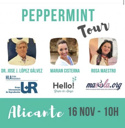 Reproducción Asistida. Peppermint Tour