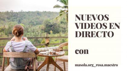 NUEVOS VIDEOS EN DIRECTO